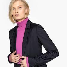 <b>Жакет приталенного покроя</b> с карманами с клапаном <b>La Redoute</b> ...