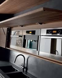 kitchen island integrated handles arthena varenna: cement kitchen with island wind eta noir cement wind collection by toncelli cucine design federica