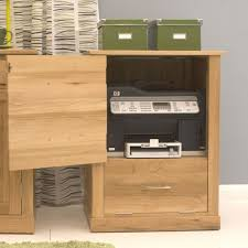 image of the baumhaus mobel oak printer cupboard cor07c with top printer cupboard open baumhaus mobel solid oak printer