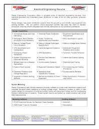 resume for electrical engineer resume  resume for electrical engineer