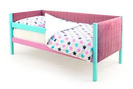 Детская <b>кровать</b>-<b>тахта</b> мягкая <b>Бельмарко Skogen мятный</b>-лаванда