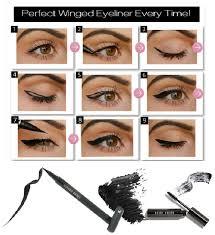 winged liner simple eyeliner tutorial beauty makeup eye cat eyes liquid hair of you know how