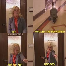 parks and recreation on instagram my reaction to the psats this wednesday the reporter ben ben office fan