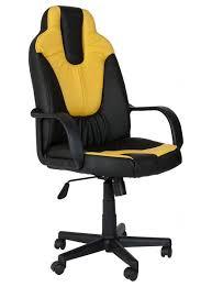 <b>Кресло</b> игровое <b>TetChair Neo</b> (1), желтый/черный купить, цены в ...