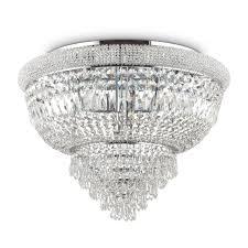 Потолочная <b>люстра Ideal Lux Dubai</b> PL24 Cromo — купить в ...