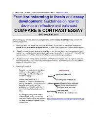 compare and contrast essay topics examples babysowboar the gods  compare and contrast essay examples comparison and contrast essay