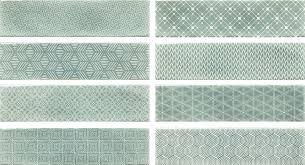 <b>Керамическая плитка Cifre</b> Decor <b>Opal</b> Turquoise 7.5x30 – купить в ...
