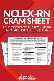 must see nursery nurse jobs pins nursing study tips nursing nursing exam cram sheet for nclex rn