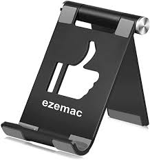 ezemac Desktop <b>Mobile</b> Phone Stand, Adjustable Tablet Base ...