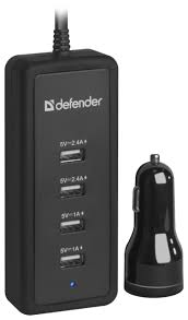 <b>Автомобильная зарядка Defender</b> ACA-02 — купить по выгодной ...