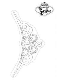 Small Picture Princess Sofia the First Tiara Coloring Page NetArt