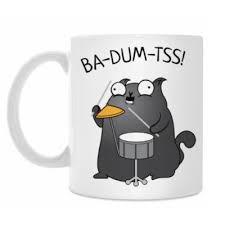 <b>Кружка</b> Кот Ba-Dum-<b>Tss</b>! купить на Printdirect.ru | 7737654-13