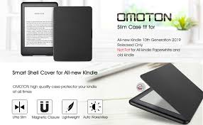 OMOTON <b>All</b>-<b>new Kindle 2019</b> Case Cover , The Thinnest Lightest ...