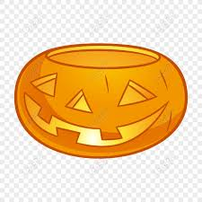 Free yellow <b>halloween</b> stereoscopic <b>pumpkin</b> light <b>element pattern</b> ...