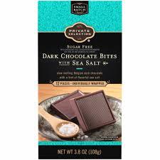 Private Selection™ Sugar Free <b>Dark Chocolate Bites</b> with <b>Sea</b> Salt
