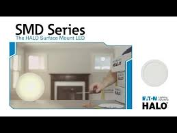 Halo <b>Surface Mount LED</b> Downlight Installation - YouTube