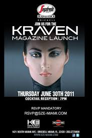 Kraven Magazine Launch Party. Published on: June 29th, 2011 by SoFlaNights.com - Kraven-Magazine-Launch-Party