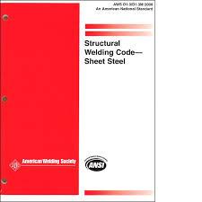 aws d d structural welding code sheet steel  aws d1 3 d1 structural welding code sheet steel 9780871710765 com books