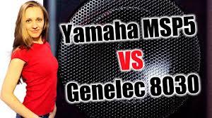 Yamaha MSP5 Studio vs <b>Genelec</b> 8030 (тест звука, обзор ...