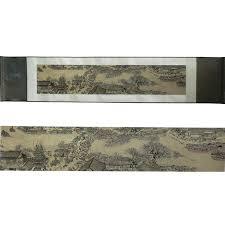 <b>Tangfoo</b> Silk Scroll <b>Painting</b> Vintage Famous <b>Wall Picture</b> Colored ...
