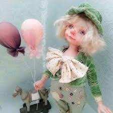 Купить Маруся (<b>10 см</b>) - лето, нежность, коллекционная кукла ...