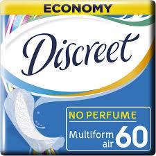 <b>Женские ежедневные прокладки</b> DISCREET Air Multiform, 60 шт ...