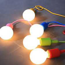 modern colorful silicone pendant lights for bar restaurant e27 pendant lamp hloder 1 meter cable 13 colors vintage edison bulbs cable pendant lighting