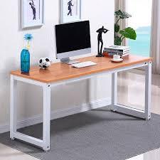 walmart office furniture. ktaxon wood computer desk pc laptop table workstation study home office furniturebrown walmart furniture k