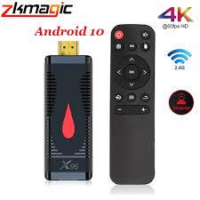 <b>X96 S400 TV</b> Stick Android 10 Allwinner H313 Quad Core 4K 60fps ...