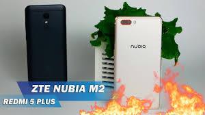<b>ZTE NUBIA M2</b> - ОГОНЬ в 2018-м? Обзор на фоне Redmi 5 Plus ...