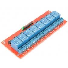 <b>8</b>-Channel 5V <b>Relay</b> Module with Opto Isolated inputs ...