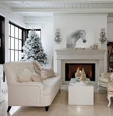 silver christmas mantel decor gold