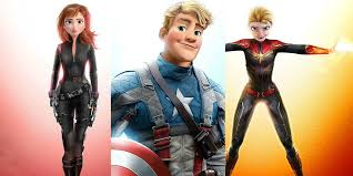 The Avengers Look Amazing As <b>Disney Animated</b> Characters