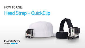 <b>Крепление</b> на голову + клипса на одежду <b>GoPro Headstrap</b> + ...