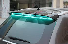 <b>Задний спойлер с LED-индикацией</b> для Mitsubishi Outlander 3 ...