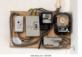 uk electrical fuse box stock photos uk electrical fuse box stock electricity meters and fuse boxes in a church stock image