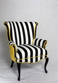 en vogue side chairs and dining chairs on pinterest black and white striped furniture