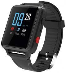 <b>Часы Geozon</b> Watcher для старшего поколения Black - цена на ...