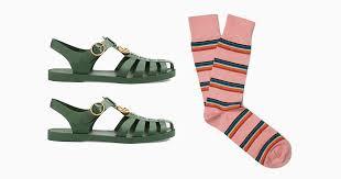 Подбираем носки к самым модным сандалиям лета | Журнал ...