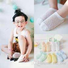 New Hot Kids <b>Summer Mesh</b> Socks Childrens <b>Cotton</b> Breathable ...