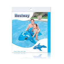 <b>Надувная игрушка Bestway 41036 в</b> форме дельфина для плавания