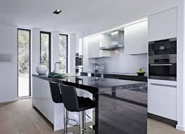 white modern kitchen barstool short backseat