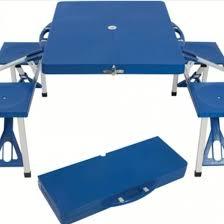 Стол складной со скамейками в чемодане Ecos TD-12 – купить в ...