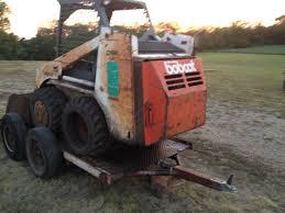 bobcat skid steer trailer needs tlc nex tech classifieds