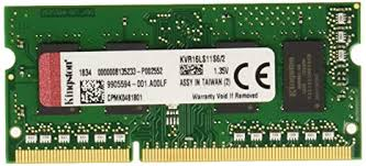 Buy Kingston 2GB KVR16LS11S6/2 Laptop Ram ... - Amazon.in