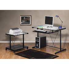 walmart home office desk. computer desk bundle printer cart home office student dorm modern keyboard tray walmart