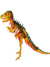 """Деревянный <b>конструктор</b> раскраска """"Динозавр T-REX"""" <b>DIY house</b> ..."""