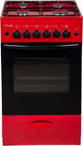 Купить Газовая плита <b>ЛЫСЬВА ЭГ 401 МС-2у</b>, вишневый в ...