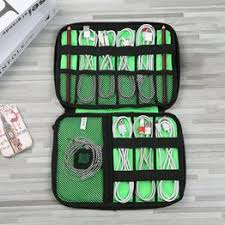 Gadget Cable Organizer Storage Bag Travel Electronic ... - Vova