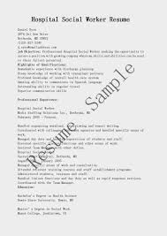 work resume resume samples hospital social worker resume sample work resume 0825